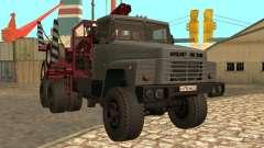 KrAZ-255-Holz-Träger