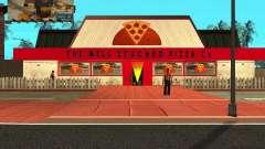 Achat de pizza