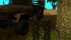 Les troupes aéroportées !