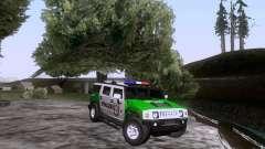 Hummer H2 Polizei