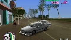 Peugeot 406 Taxi pour GTA Vice City