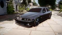 BMW M5 E39 Stock 2003 v3.0 pour GTA 4