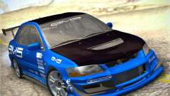 Mitsubishi Lancer Evolution IX Tunable für GTA San Andreas