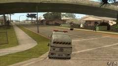 Balayeur de rue de travail