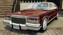 Cadillac Fleetwood Brougham Delegance 1986 pour GTA 4