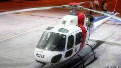 Eurocopter AS350 Ecureuil (Squirrel) Malaysia pour GTA 4