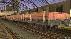 Wagon plat 44424539 pour GTA San Andreas