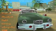 Packard Standard Eight Touring Sedan Police 1948