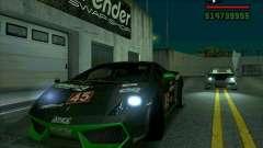 Lamborghini Gallardo LP560-4 für GTA San Andreas
