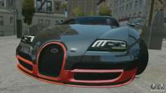 Bugatti Veyron 16.4 Super Sport pour GTA 4