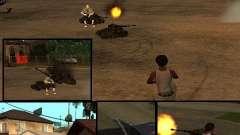 BATTLE TANK pour GTA San Andreas