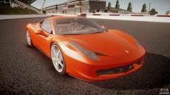 Ferrari 458 Italia 2010 für GTA 4