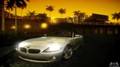 BMW Z4 silver für GTA San Andreas