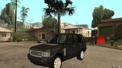 Range Rover Supercharged 2008 pour GTA San Andreas