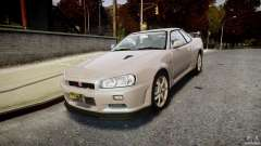 Nissan Skyline GT-R R34 2002 v1