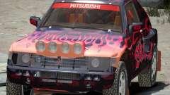 Mitsubishi Pajero Proto Dakar EK86 vinyle 4