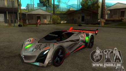 Mazda Furai V2 für GTA San Andreas