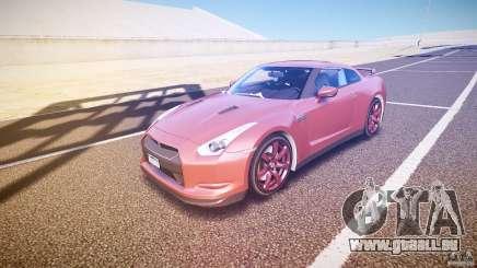 Nissan GT-R R35 2010 für GTA 4