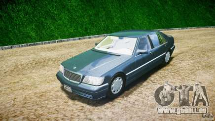 Mercedes Benz SL600 W140 1998 higher Performance pour GTA 4