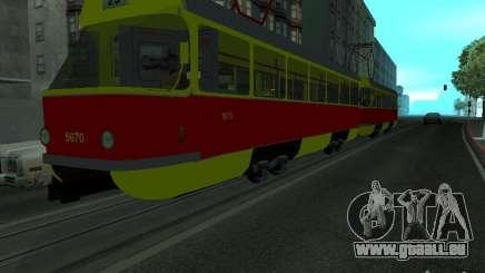 Tatra T3SU pour GTA San Andreas
