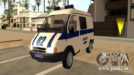 GAZ 2217 Sobol POLICE pour GTA San Andreas