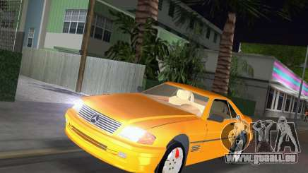 Mercedes-Benz SL600 1999 für GTA Vice City