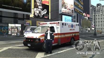 Chevrolet Ambulance FDNY v1.3 für GTA 4