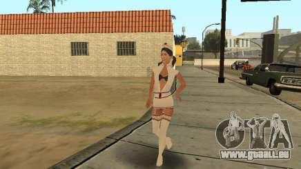 Girlz Medic in Grove pour GTA San Andreas