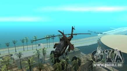 KA-50 Black Shark pour GTA San Andreas