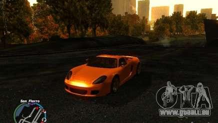 Porsche Carrera GT 2003 für GTA San Andreas