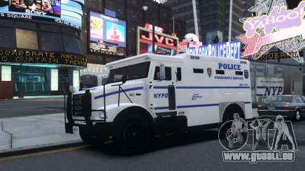 Enforcer Emergency Service NYPD pour GTA 4