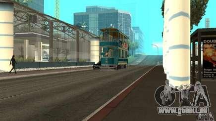 Double Decker Tram pour GTA San Andreas