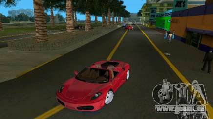 Ferrari F430 Spider 2005 für GTA Vice City