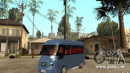Karsan J10 für GTA San Andreas