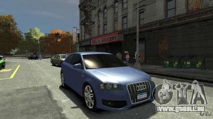 Audi S3 2006 v1.1 tonirovanaâ pour GTA 4