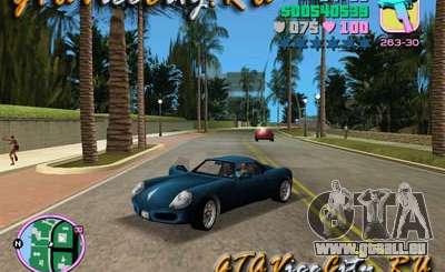Porshe de GTA 3 pour GTA Vice City