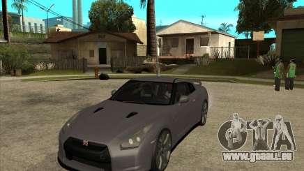 2008 Nissan GTR R35 pour GTA San Andreas