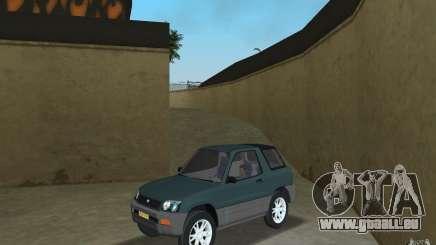 Toyota RAV4 für GTA Vice City