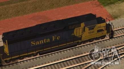 SD 40 UP BN Santa Fe pour GTA San Andreas