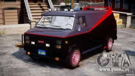 GMC Van G-15 1983 The A-Team pour GTA 4