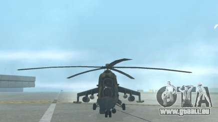 Mi-24p pour GTA San Andreas