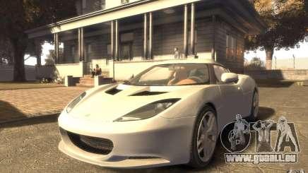 Lotus Evora 2009 pour GTA 4