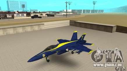 Blue Angels Mod (HQ) für GTA San Andreas