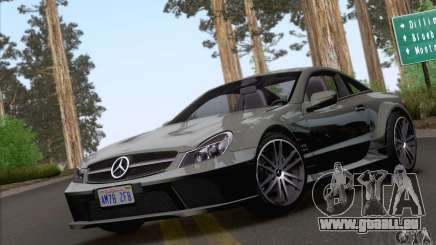Mercedes-Benz SL65 AMG Black Series für GTA San Andreas