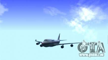 Boeing 747-400 Malaysia Airlines pour GTA San Andreas