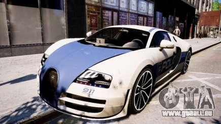 Bugatti Veryon SS COP pour GTA 4