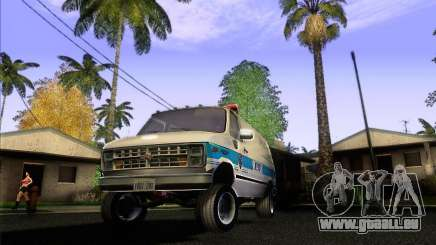 Chevrolet VAN G20 NYPD SWAT pour GTA San Andreas