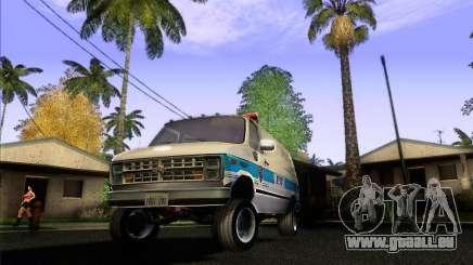 Chevrolet VAN G20 NYPD SWAT pour GTA San Andreas