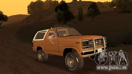 Ford Bronco 1985 pour GTA San Andreas