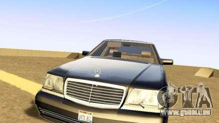 Mercedes-Benz S600 V12 pour GTA San Andreas